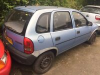 Vauxhall Corsa B LS 1993 1.2 Breaking for Parts