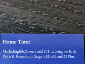 Pvt. Tutor for Primary School