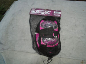 Girls elbow and knee pads