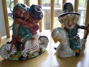 2-Vintage Staffordshire Shorter & Son Figurines/Vases Kitchener / Waterloo Kitchener Area image 10