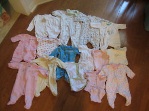 newborn size baby clothes boy and girl