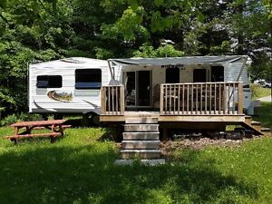 """2013 Wildwood """"Couples"""" Travel Trailer, park fees paid for 2016"""