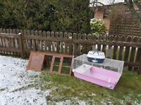 Guinea Pig Cage, Outdoor Run and Carrier
