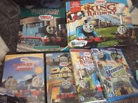 Thomas DVDs and books