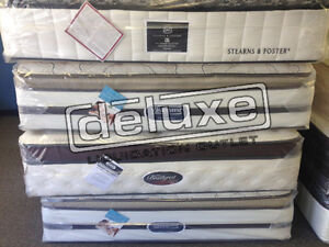 DELUXE DEAL 100% BRAND NEW MATTRESS SIMMONS, SERTA, SEALY, SALE