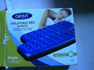 Inflatable Airrest mattress (twin pack) $30 Kitchener / Waterloo Kitchener Area image 2