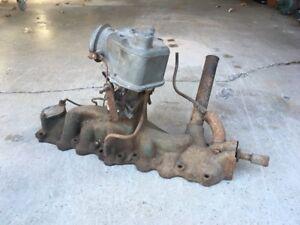 Ford/Mercury Flathead V8 Intake and Carburetor