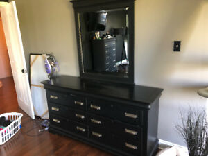 Dresser, Chest, Mirror and night stand
