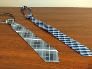 Boys' Neck Ties - zip + adjustable - Newberry and Zara-$5 EACH