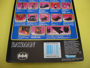BATMAN RETURNS ROBIN JET FOIL CYCLE, ROBIN AND 2 LOOSE FIGURES London Ontario image 6