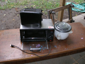 Toaster,rice cooker,toaster oven