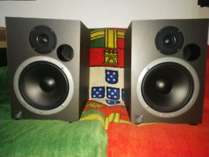 Moniteurs Event Project Studio 8 monitors speakers haut-parleurs