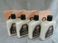 Vintage Original Oil of Olay Lotion HEAVY GLASS bottles