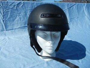 Men's Z1R open-face scooter/motorcycle helmet. Size M.