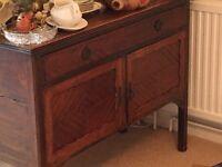 Edwardian antique sideboard