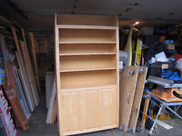 SINGLE SIZE COMBINATION  BOOKSHELF / WALL BED