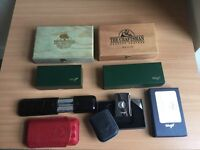 DAVIDOFF CIGAR CASES & MULBERRY CIGAR CASES