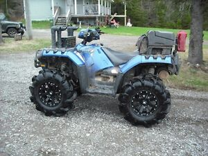 2012 Polaris Sportsman 850 XP Blue Fire Limited Edition