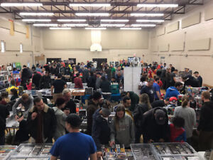 Oshawa Video Game Convention Sunday April 8th 2018
