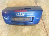 Audi A4 convertible boot (2003)
