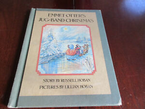 Emmet Otter's Jug-Band Christmas 1st Edition 1971 HOBAN