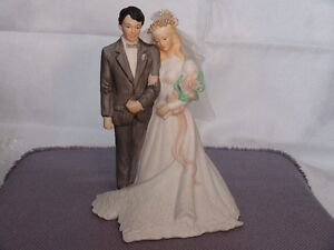 Music Box Bride And Groom Figurine London Ontario image 2