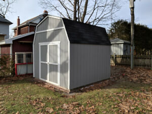 12x12 shed available for RENT in Oshawa