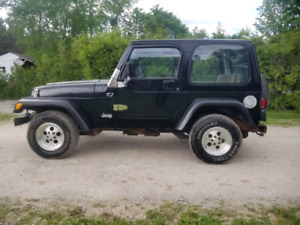 2000 JEEP TJ certified