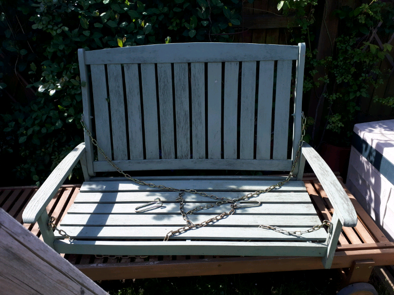 Admirable Wooden Garden Swing Bench Outdoor Seat Dorset In Sturminster Newton Dorset Gumtree Alphanode Cool Chair Designs And Ideas Alphanodeonline