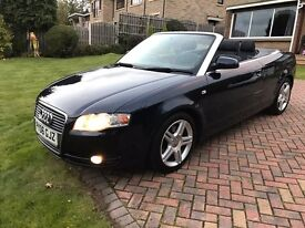 AUDI A4 CONVERTIBLE 1.8T 2006 FACELIFT MODEL BLUE – CHEAPEST ON INTERNET