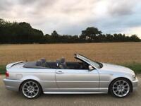 2004 BMW E46 325 M SPORT CONVERTIBLE AUTO 68K LOW MILES! AUTOMATIC 325ci 330 M3