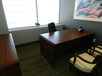 Furnished Office Space for Rent - Immediately Available!