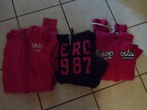 3 Girl's Sz. 12 Hoodies