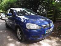 Vauxhall/Opel Corsa 1.2i 16v ( a/c ) Easytronic 2005 Breeze 40000 MILES