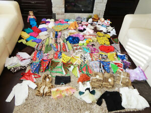 Over 170 Piece Newborn Baby Photo Prop Clothing Accessory Lot