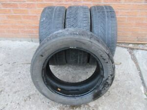 4 Continental Extreme Contact 205/55R16 All Season Tires