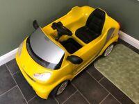 6v Smart Fortwo Kids Ride on Car