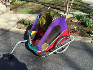 Charoit Two seat bicycle trailer