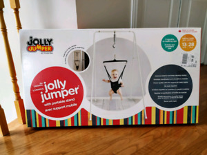 Jolly Jumper with stand - baby exerciser