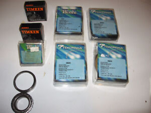 Wheel bearings and seals for R.V.