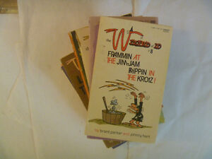 Pile of 9 WIZARD OF ID Paperbacks by Brant Parker & Johnny Hart