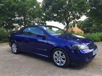 Vauxhall Astra convertible limited edition 87k