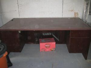 Large solid wood Office Desk