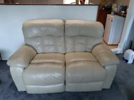 Genuine Leather Sofa Reclining