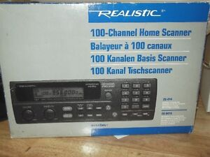 Realistic 100 Channel Scanner