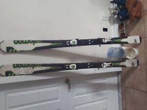 Ski salomon division enduro