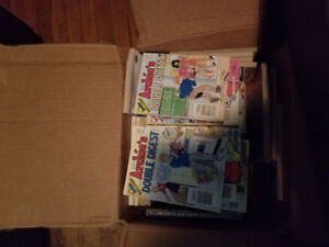 48 mixed Archie comics from 2001 and earlier