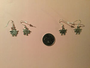 Sheep Earrings -- (I have 2 pairs available)