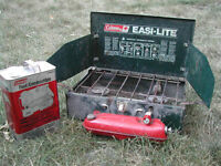 Coleman 'Naptha' Camping Stove plus full container of Naptha