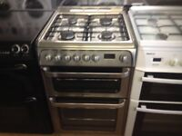Hotpoint ultima 60cm gas cooker (fan oven)